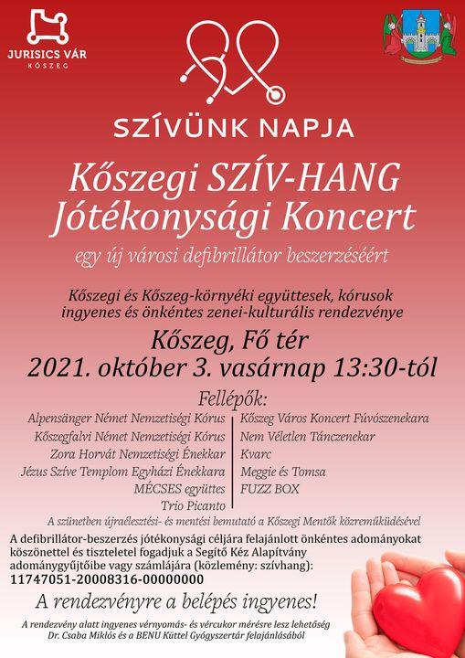 Szív-hang Jótékonysági koncert